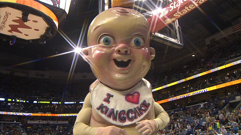 Illustration for article titled King Cake Baby Is Going To Give Someone A Heart Attack