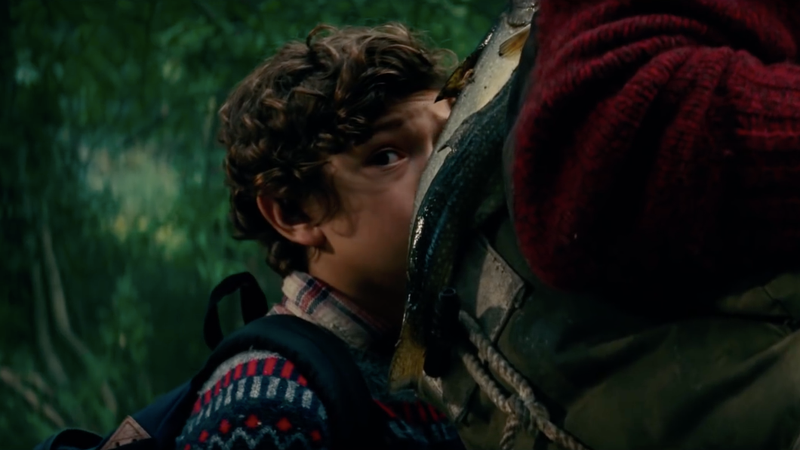 Noah Jupe as Marcus Abbott in A Quiet Place.