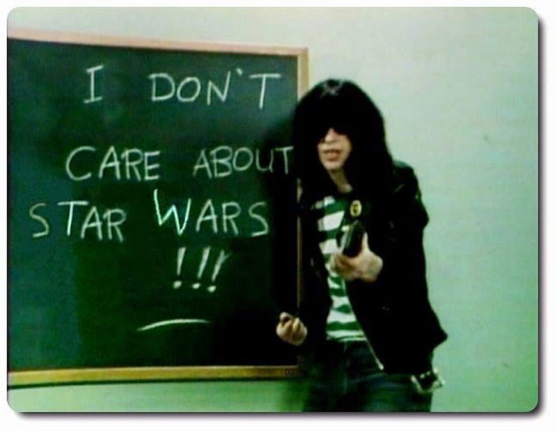 """Illustration for article titled """"I Don't Care"""" - The Ramones (1977)"""