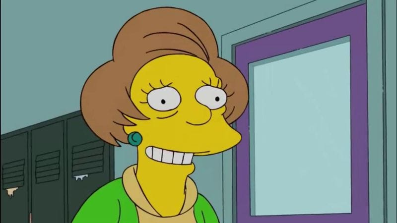Illustration for article titled Edna Krabappel will be retired on The Simpsons