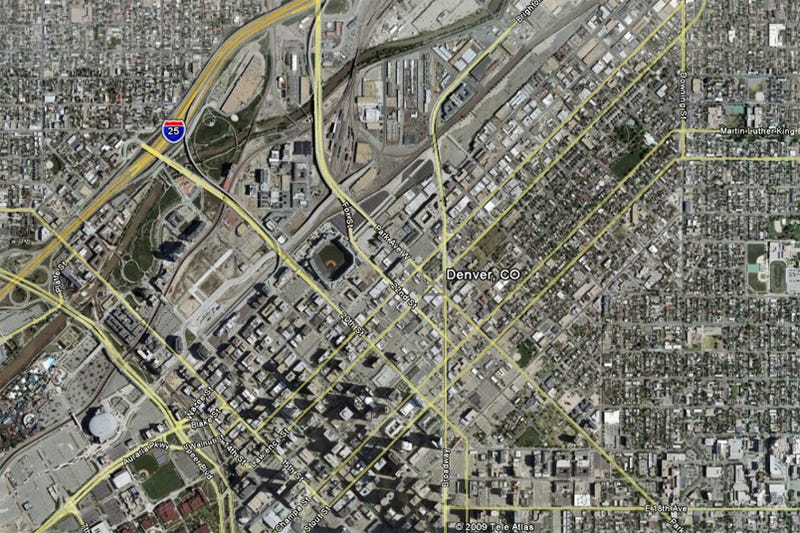 Illustration for article titled Denver: America's Sixteenth Most Traffic-Congested CIty