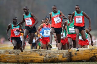 Illustration for article titled Kenyans Place First in World Cross Country Championships