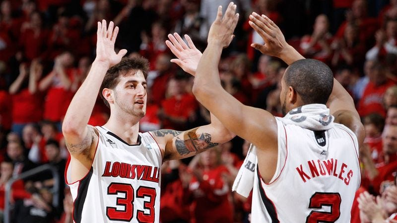 Illustration for article titled Louisville Overcomes Early First-Round Loss To Advance To Elite Eight