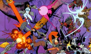 Illustration for article titled The Best Comic Ever: Nextwave, Agents of H.A.T.E.