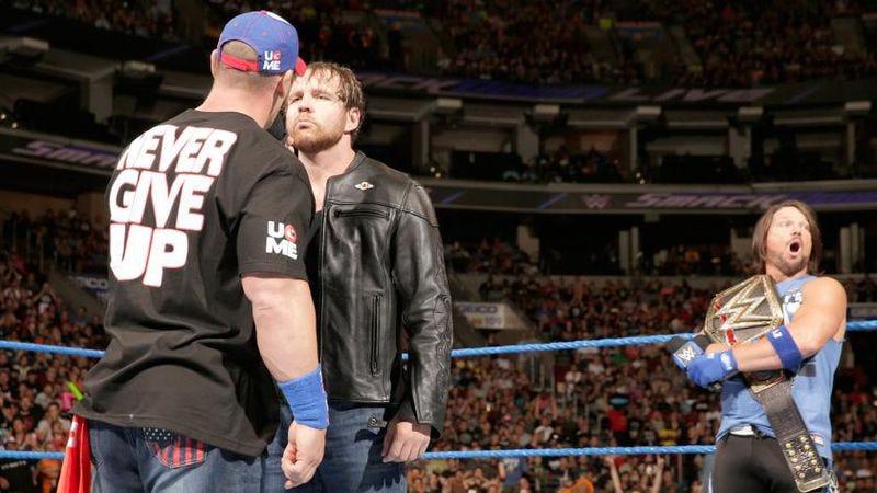 "Illustration for article titled SmackDown! Live keeps Team Blue's ""winning"" streak going"