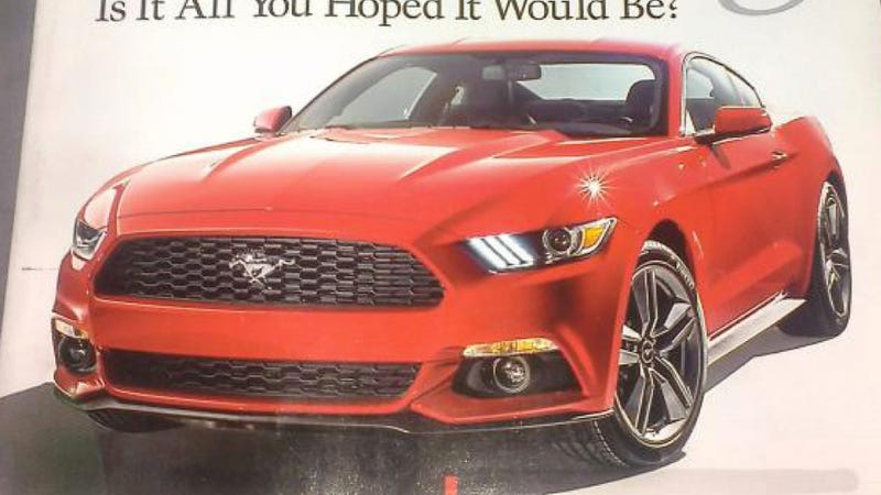 Illustration for article titled 2015 Ford Mustang: This Is It