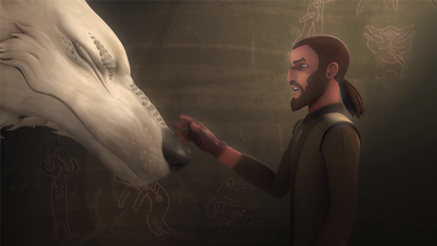 Breaking: Star Wars Rebels  Ahsoka Has Not Suddenly Transformed Into a Giant Wolf