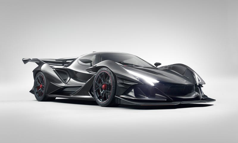 Apollo reveals insane Intensa Emozione hypercar