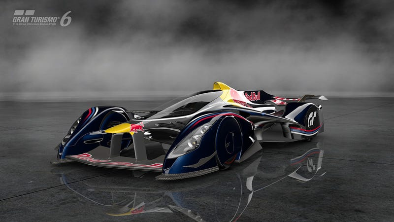 Illustration for article titled The Red Bull X2014 May Be Too Fast For A Human To Drive In Real Life