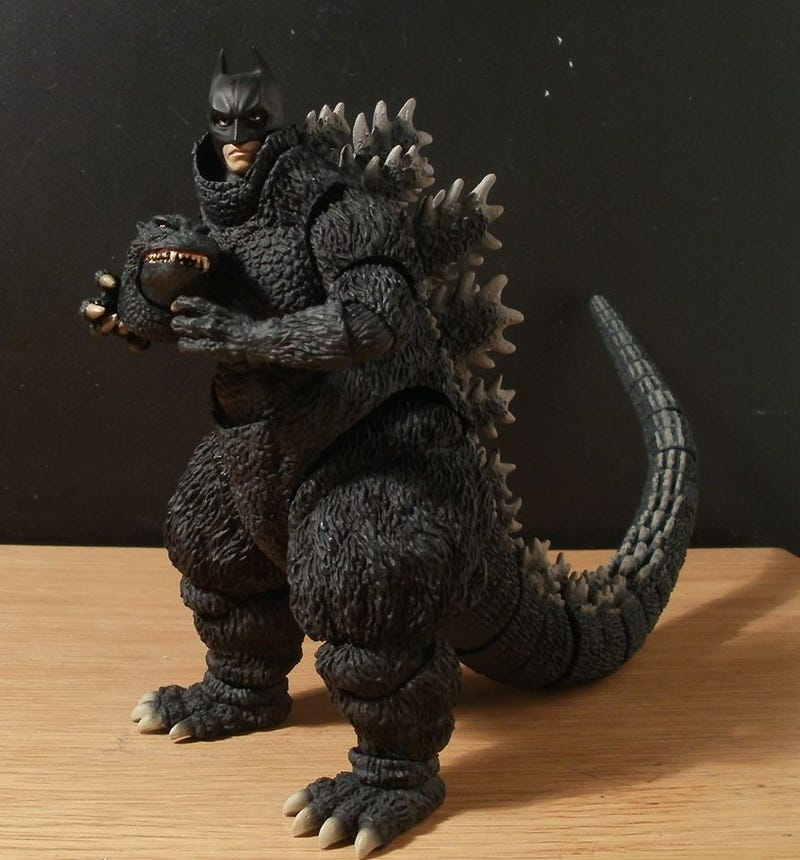 Illustration for article titled Godzilla Delivers His Best 'I Am Batman'