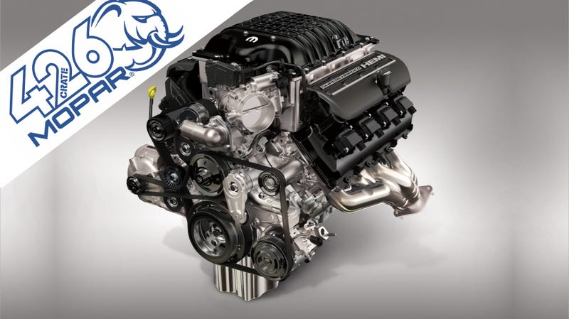 Illustration for article titled The Mopar Hellephant Crate Engine, Which Is Not a Joke, Will Pack 1,000 HP For $30,000