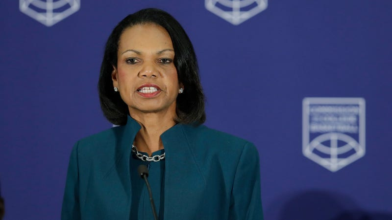 Illustration for article titled Condoleezza Rice Claims NCAA Commission, Which Failed, Wasn't A Failure