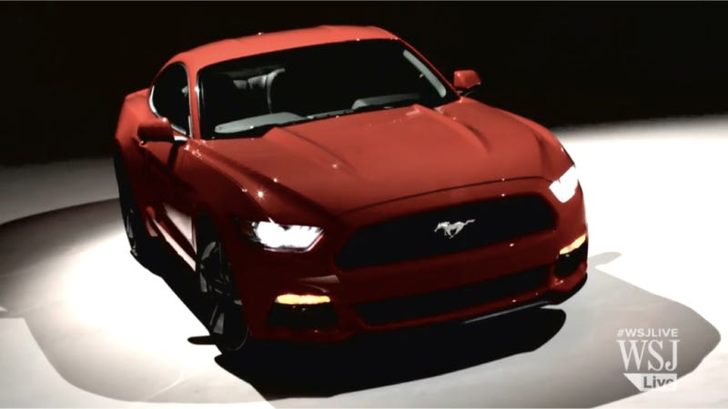 Illustration for article titled Here's The First Video Look At The 2015 Ford Mustang
