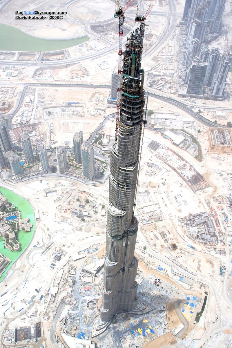 Illustration for article titled Tallest Skyscraper in the World Almost Completed, Defies Belief
