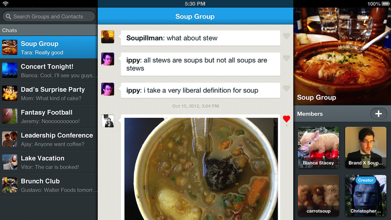 Illustration for article titled GroupMe, Our Favorite Group Chat App Ever, Is Now Better