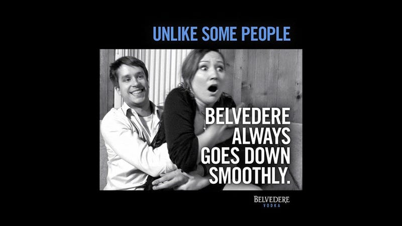 Illustration for article titled How Sorry Is Belvedere Vodka About That Rapey Ad?