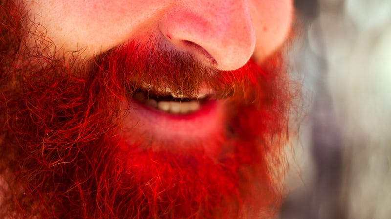 dry skin under beard
