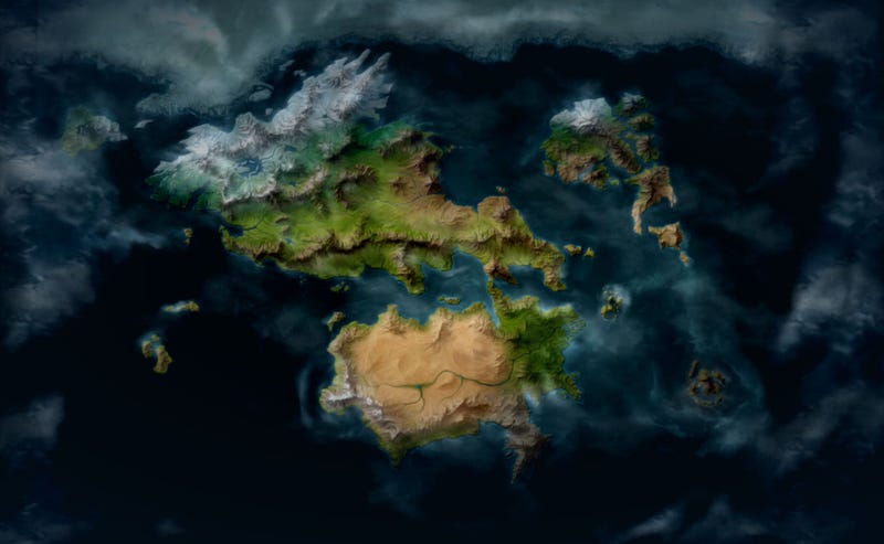 Illustration for article titled League Of Legends' Lore Finally Has A Proper World Map