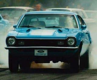 Illustration for article titled Hood Scoop Of The Week: 1971-72 Ford Maverick Grabber