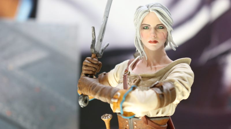 Illustration for article titled Dark Horse's Witcher III Figures Are Pretty Damn Good