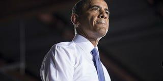 President Barack Obama gave a speech on the economy last week in Jacksonville, Fla. (Brendan Smialowski/AFP/Getty Images)