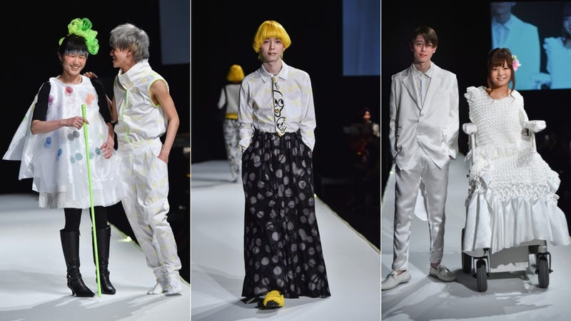 Illustration for article titled Tenbo Spotlights Models With Disabilities at Tokyo Fashion Week