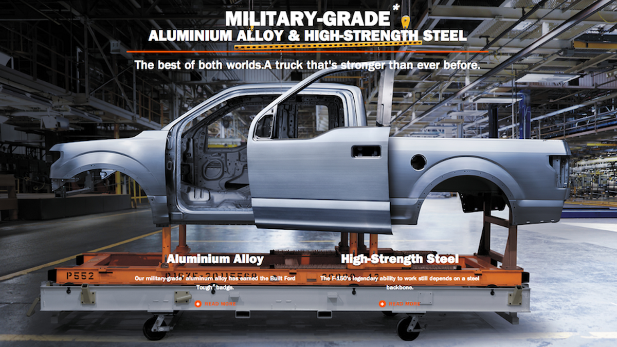 How A Ford F-150 Aluminum Repair Cost $17,000 And Took A Month