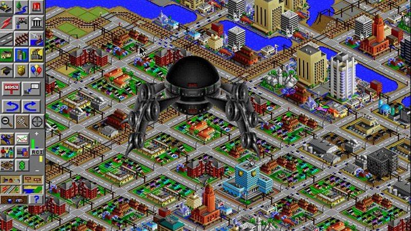 Screenshot: SimCity 2000/EA