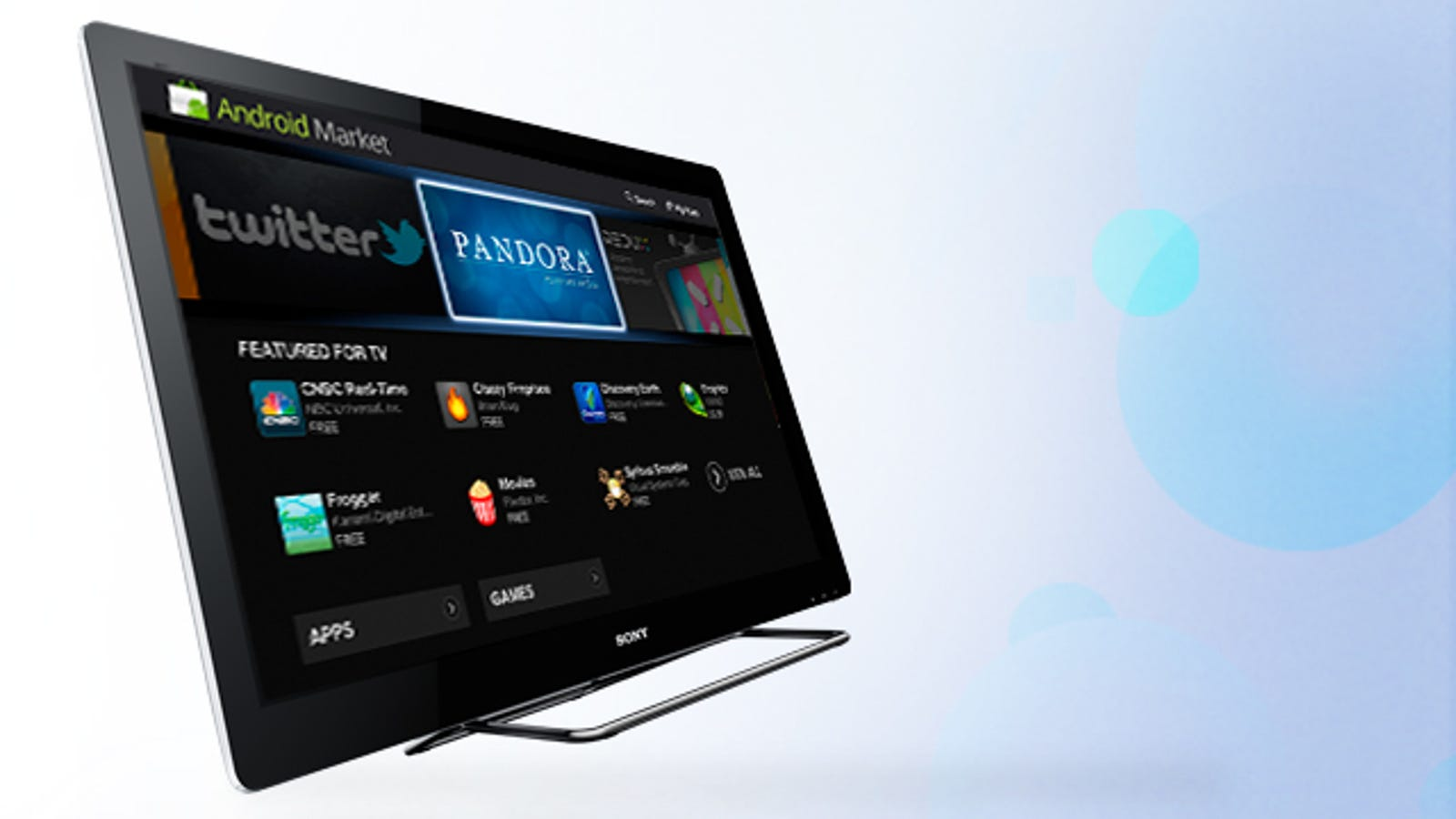 Sony Internet TV Brings Made-for-TV Apps Into Your Living Room