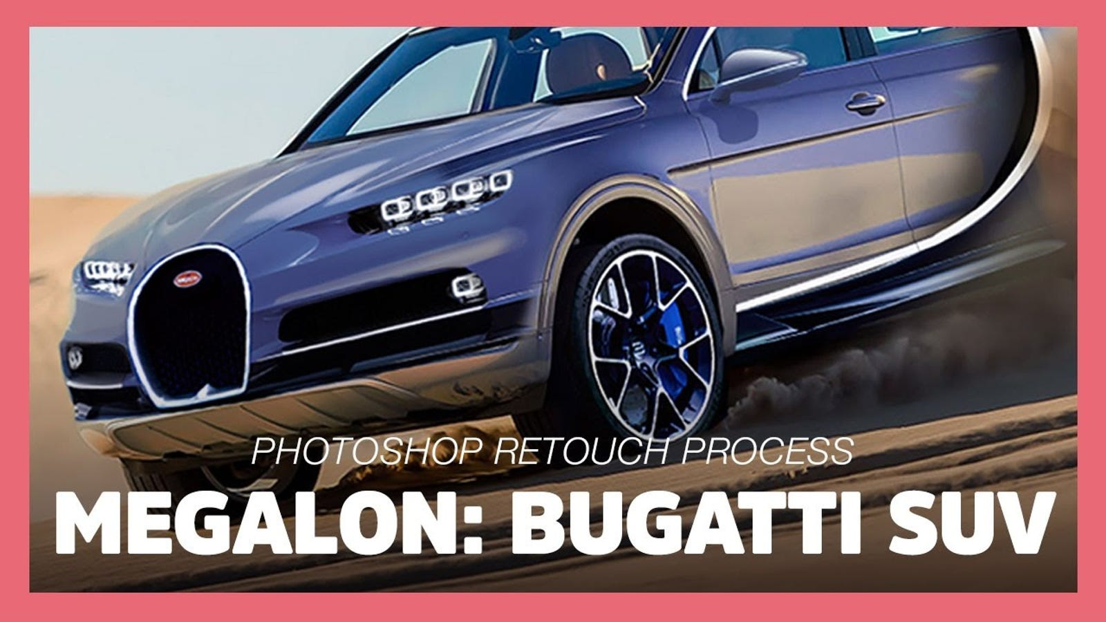 This Perverse Idea For A Bugatti SUV Looks Way Too Good
