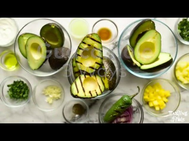 Grill Your Avocados First for Rich, Delicious Guacamole