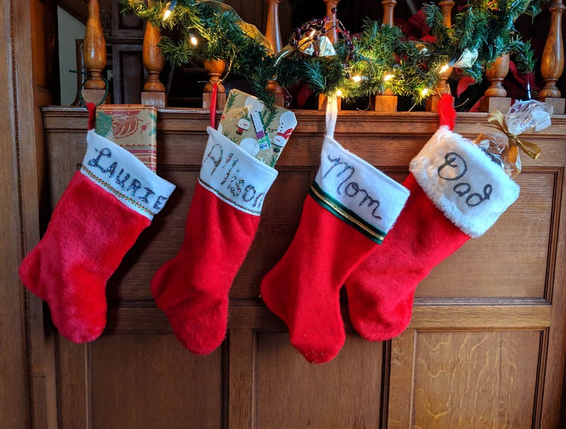 Illustration for article titled Mom's Christmas Stocking Noticeably Less Full