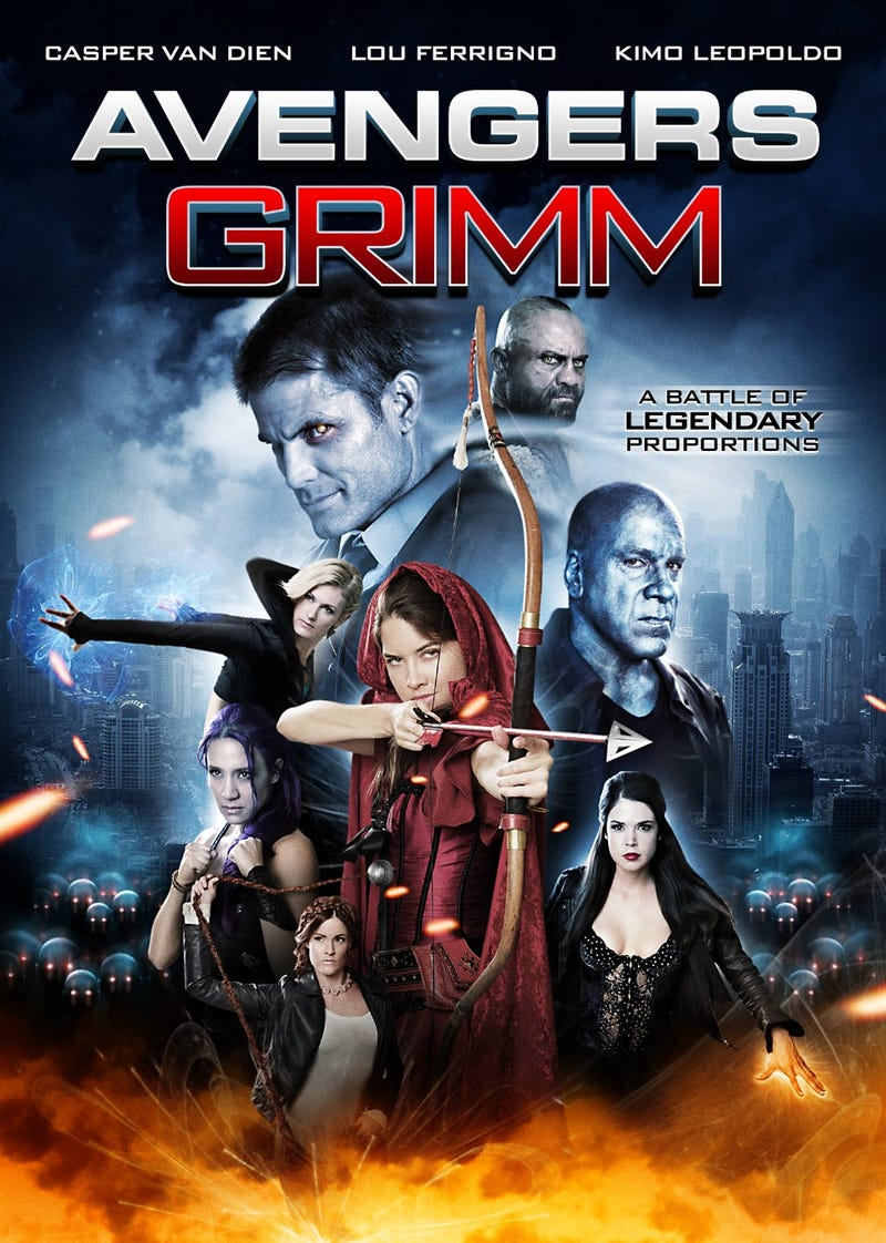 Illustration for article titled Who else is pumped for Avengers Grimm?