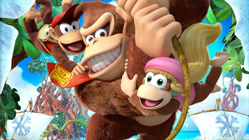 Illustration for article titled Why You Should Be Excited for Donkey Kong Country: Tropical Freeze on Switch