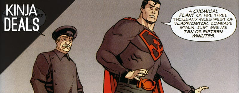 Illustration for article titled Today's Best Media Deals: Commie Superman, Fault In Our Stars, & More