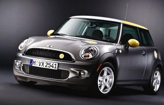 Illustration for article titled All-Electric Mini E Gets One Year Lease Priced At $820 Per Month