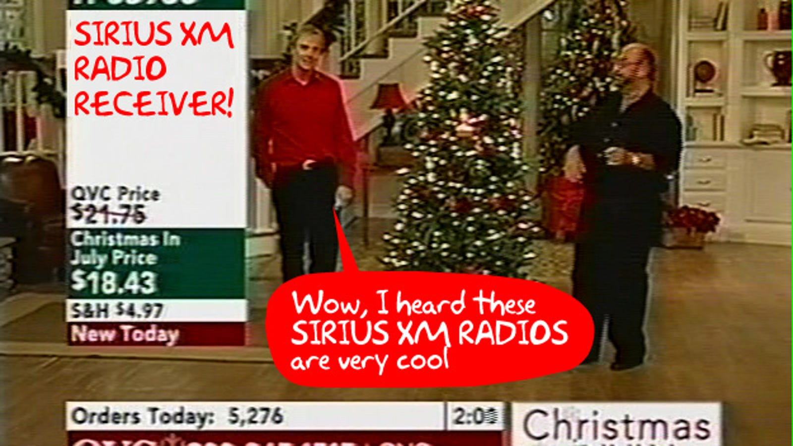 Xm Radio Christmas.Sirius Xm Gets Bailed Out By Owners Of Qvc Avoids