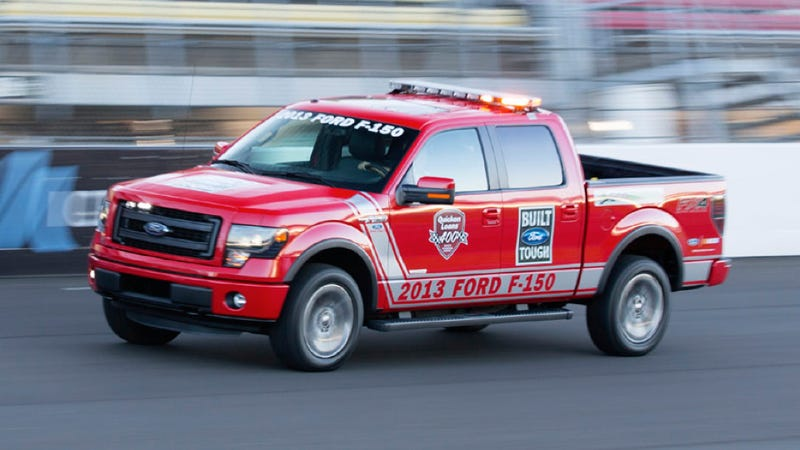 Illustration for article titled This Is The Ford F-150 FX4 NASCAR Pace Truck