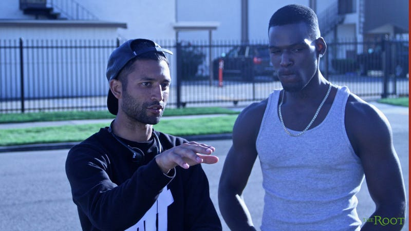 Justin Tipping and Kofi Siriboe (Focus Features)