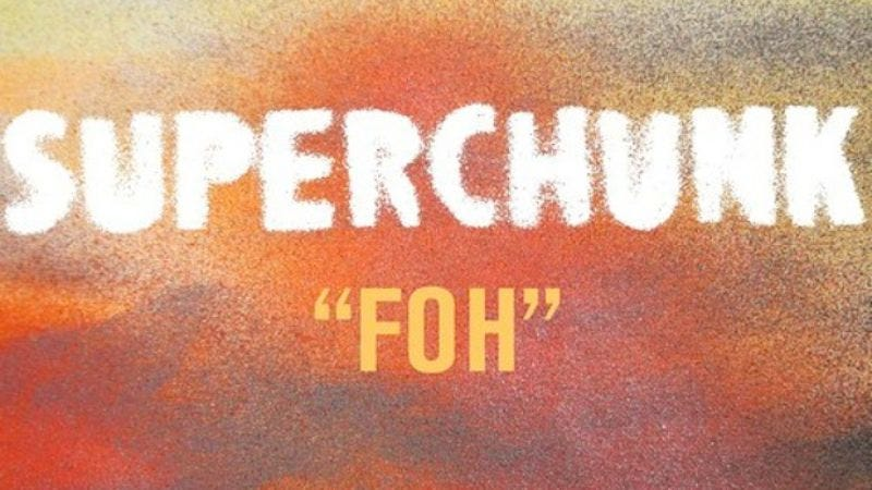 """Illustration for article titled Listen to """"FOH,"""" the poppy new single from Superchunk"""