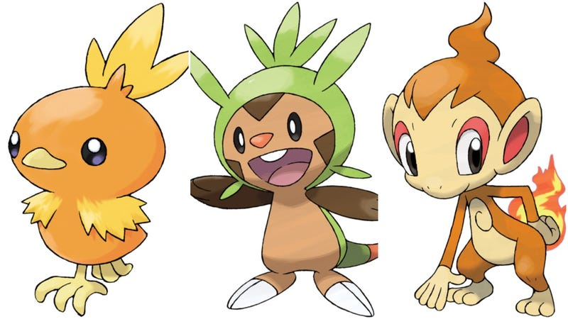 Illustration for article titled The Cutest Pokémon Starters According To Fans In Japan