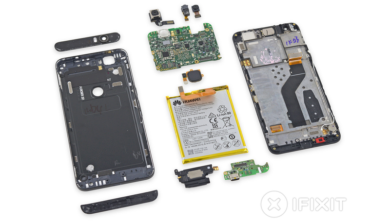 Illustration for article titled El Nexus 6P se deja ver por dentro, y es casi imposible de reparar