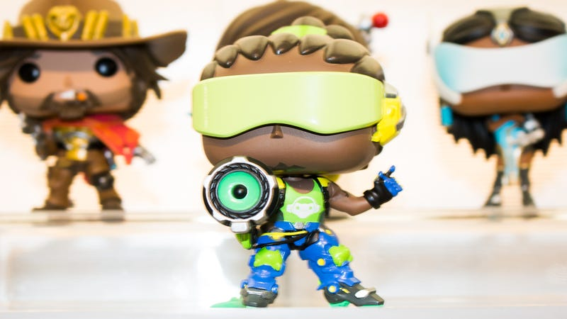 The biggest game of 2016, Overwatch, meets the biggest toy trend of 2017.