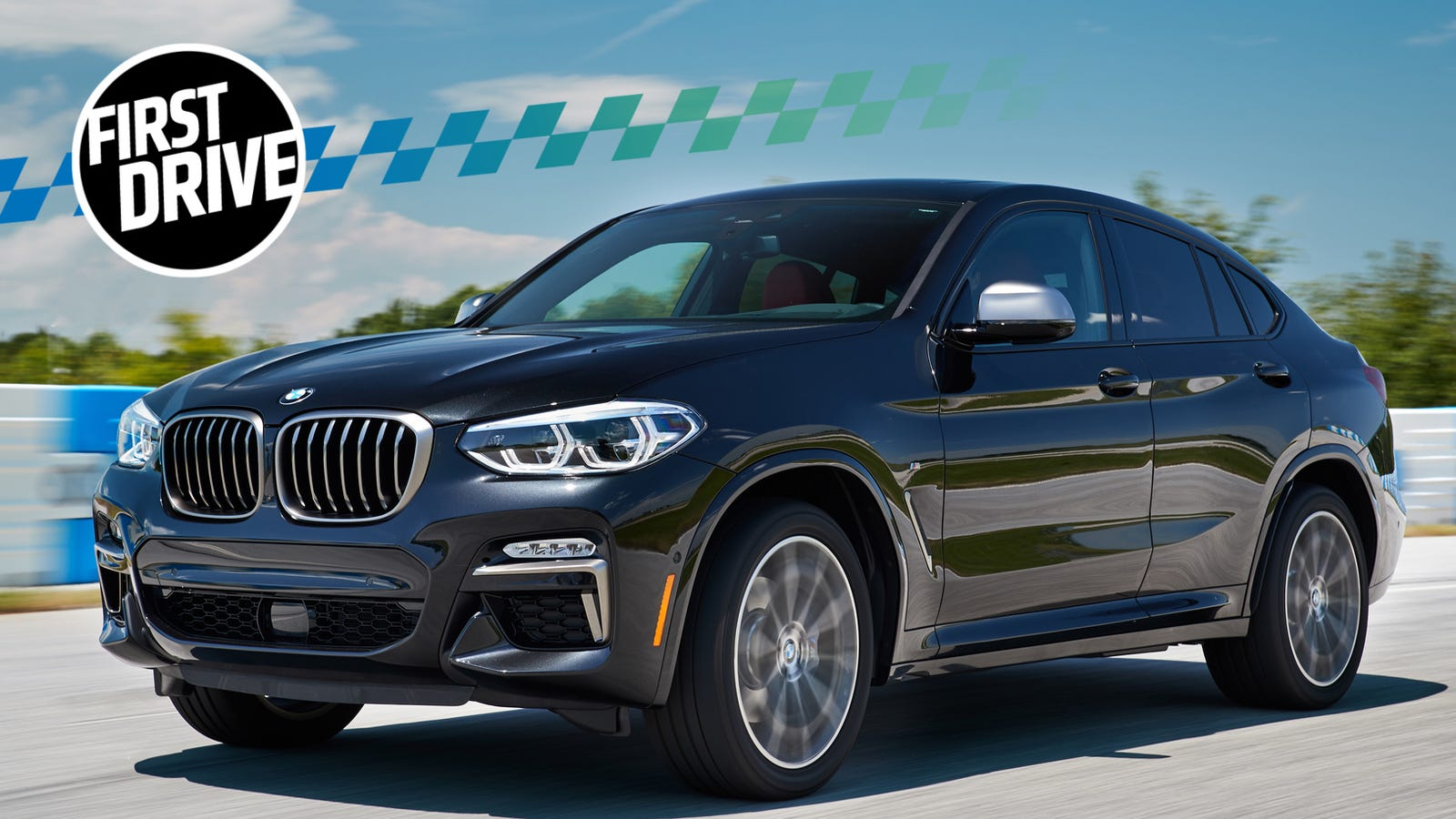 the 2019 bmw x4 m40i makes the case for ridiculous crossovers. Black Bedroom Furniture Sets. Home Design Ideas