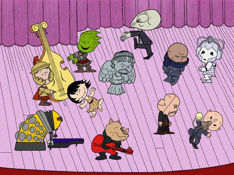 Illustration for article titled It's the Great Dalek, Charlie Brown