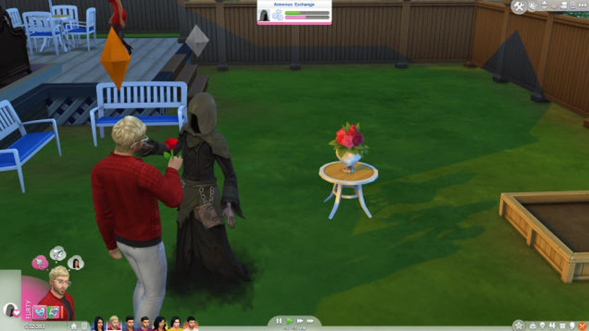 My Quest To Seduce The Grim Reaper In The Sims 4