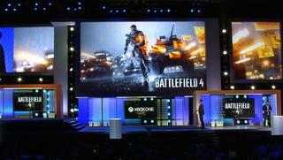 EA presenting Battlefield 4 on the Microsoft E3 stage at E3 2013