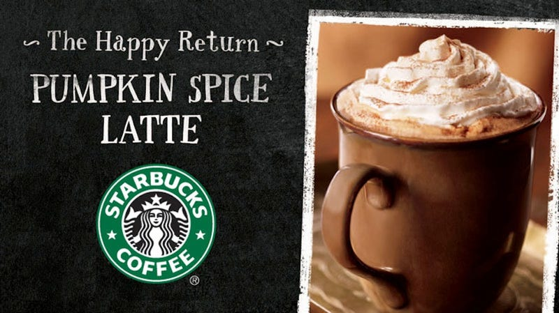 Illustration for article titled Not Even Starbucks Knows What's in Your Pumpkin Spice Latte