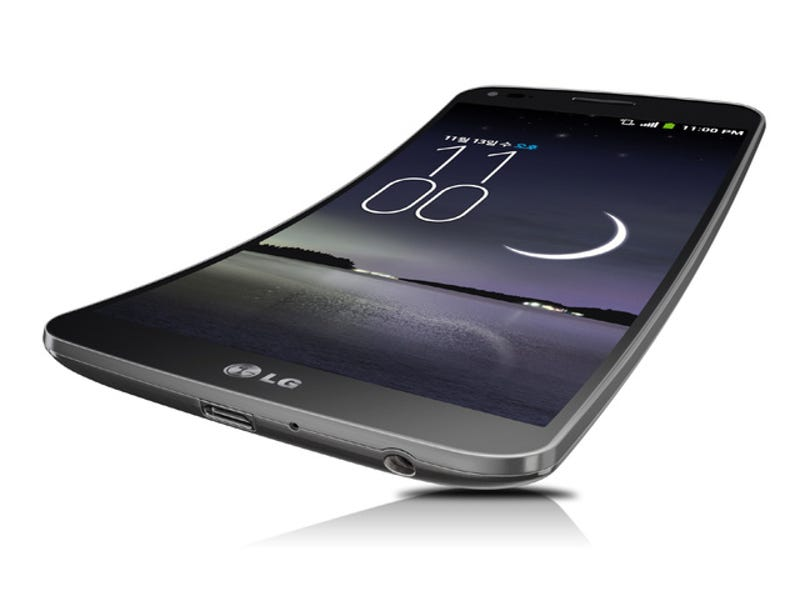 Illustration for article titled LG G Flex: este es el primer smartphone curvado de LG