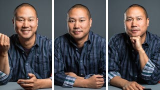 Illustration for article titled Zappo's CEO Tony Hsieh on Online Shopping, Why He Hates Shoes and Las Vegas